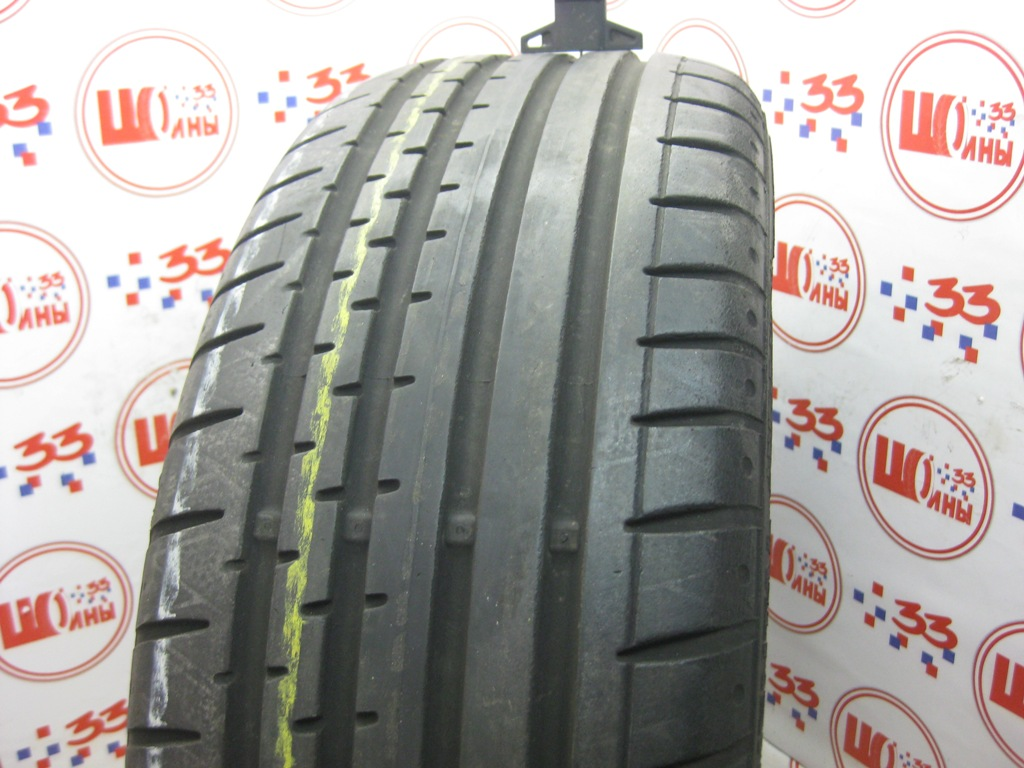 Б/У 205/55 R16 Лето CONTINENTAL Sport Contact-2 Кат. 3