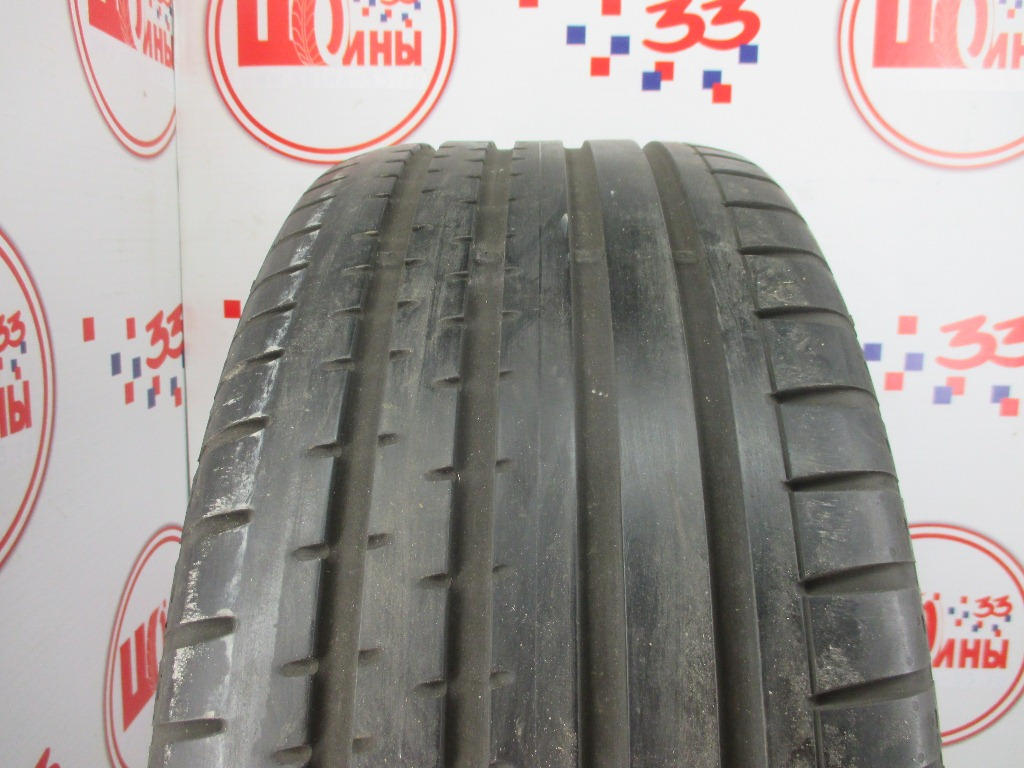Б/У 255/45 R18 Лето CONTINENTAL Sport Contact-2 Кат. 5