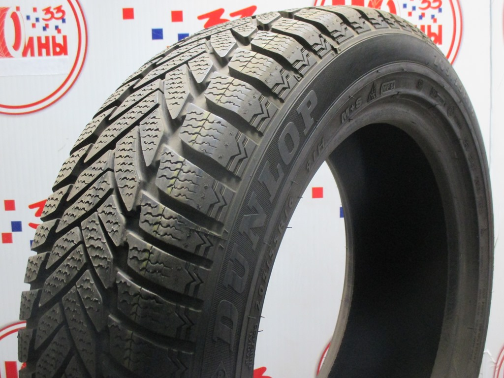 Б/У 205/55 R16 Зима DUNLOP SP Winter Sport M-3 RSC Кат. 2