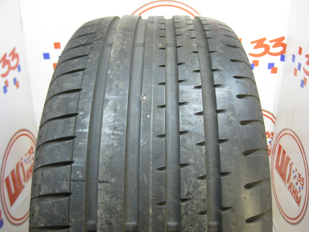 Б/У 255/35 R20 Лето CONTINENTAL Sport Contact-2 Кат. 3