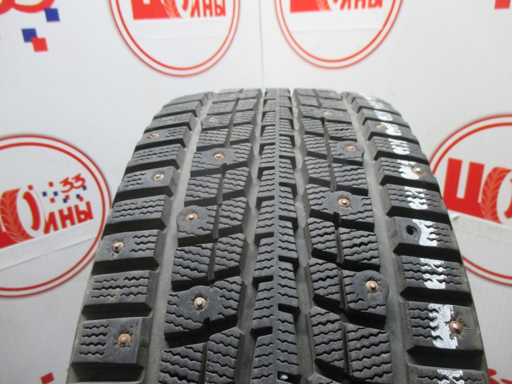 Б/У 205/55 R16 Зима Шипы  DUNLOP SP Winter Ice-01 Кат. 2
