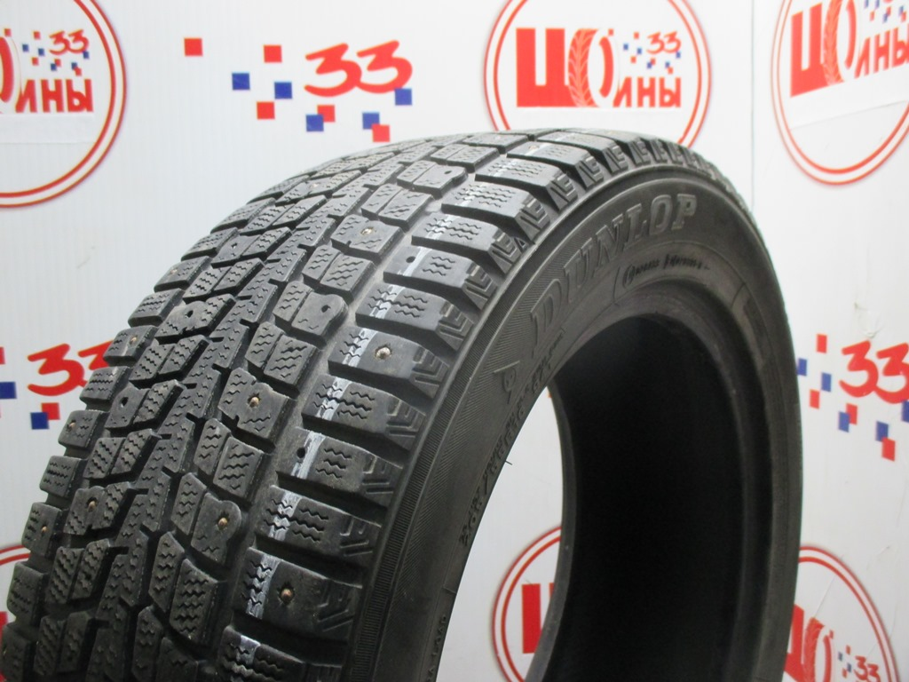 Б/У 205/55 R16 Зима Шипы  DUNLOP SP Winter Ice-01 Кат. 4