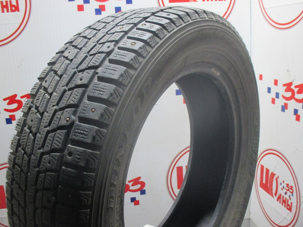 Б/У 205/60 R16 Зима Шипы  DUNLOP SP Winter Ice-01 Кат. 5