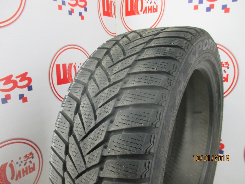 Б/У 235/50 R18 Зима DUNLOP SP Winter Sport M-3 Кат. 5