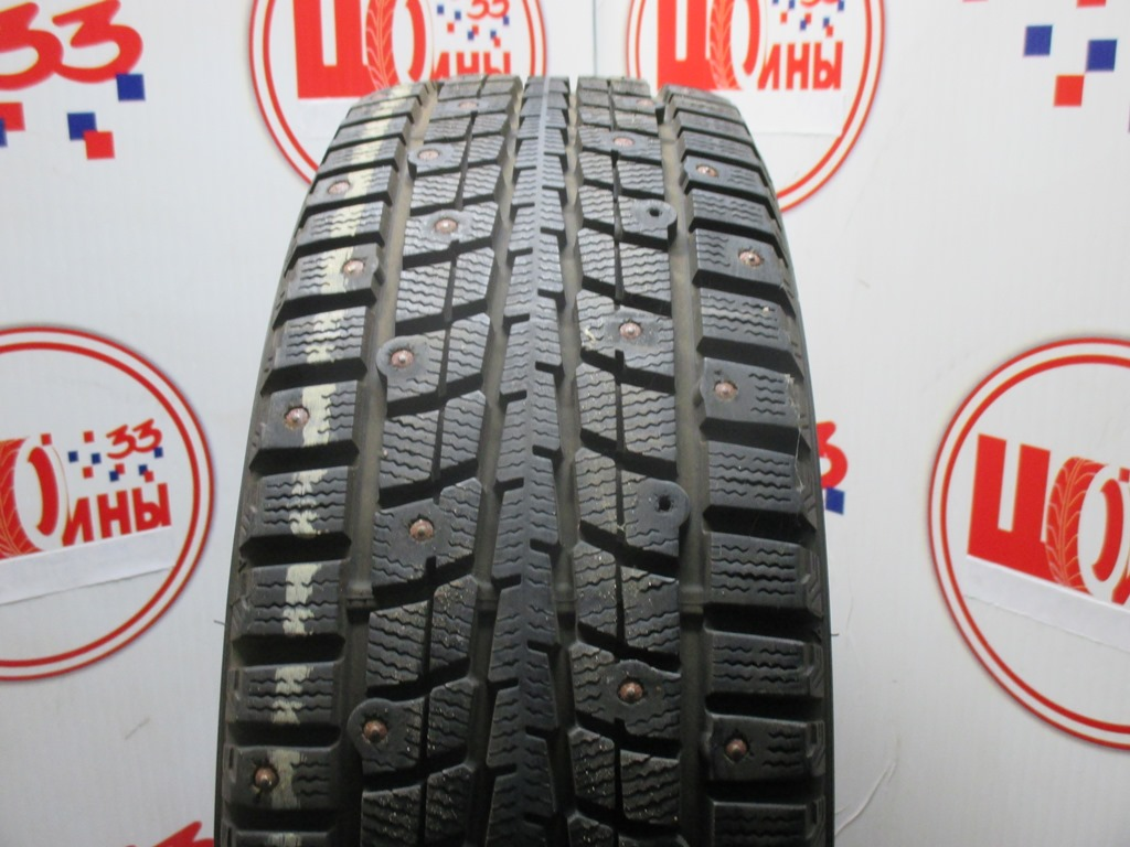Б/У 205/60 R16 Зима Шипы  DUNLOP SP Winter Ice-01 Кат. 2