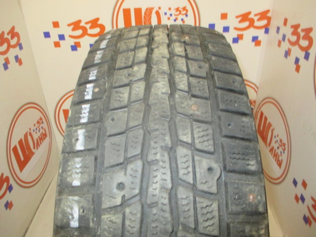 Б/У 195/65 R15 Зима Шипы  DUNLOP SP Winter Ice-01 Кат. 5