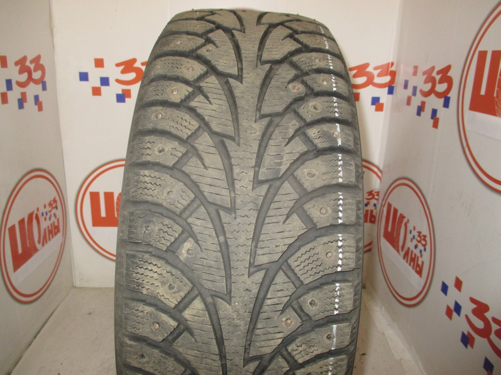 Б/У 205/55 R16 Зима Шипы  HANKOOK Winter I*Pike W-409 Кат. 4