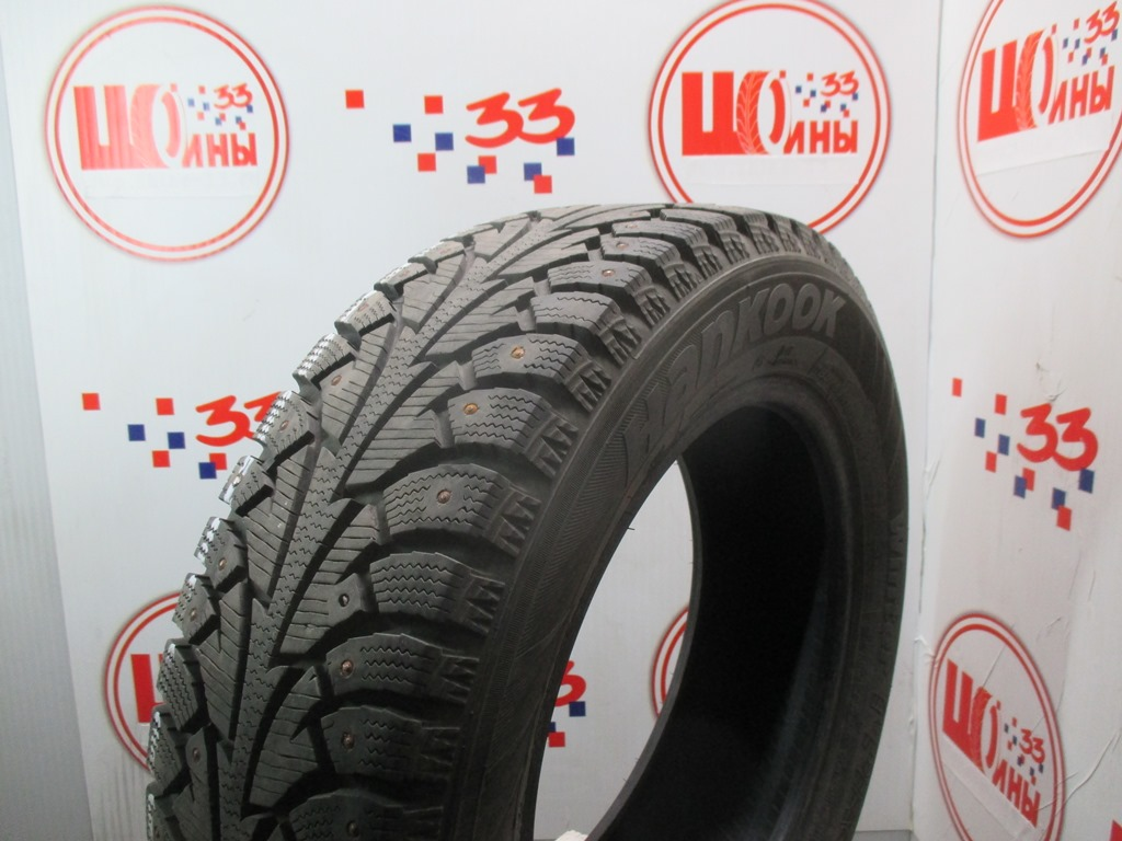 Б/У 185/65 R15 Зима Шипы  HANKOOK Winter I*Pike W-409 Кат. 3