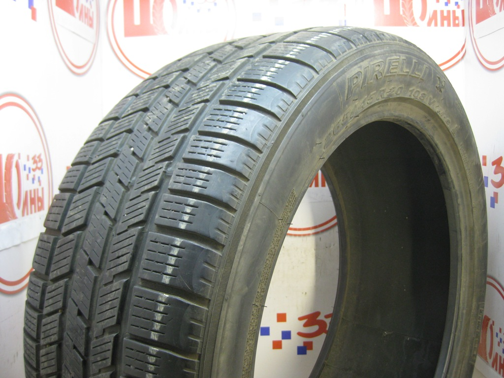 Б/У 265/45 R20 Зима PIRELLI Scorpion Ice & Snow Кат. 5