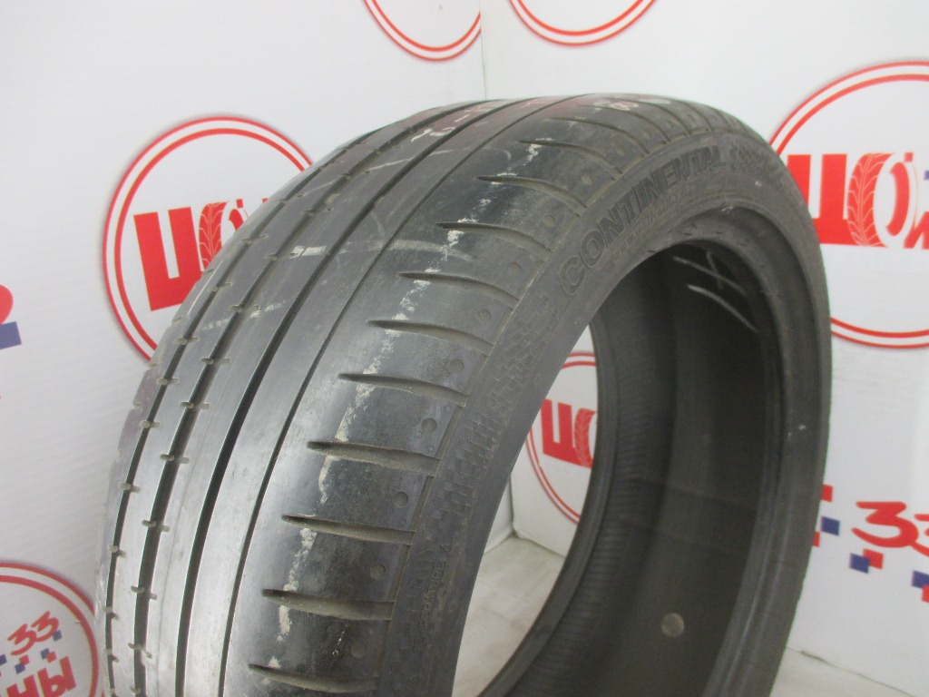 Б/У 245/40 R18 Лето CONTINENTAL Sport Contact-2 Кат. 5