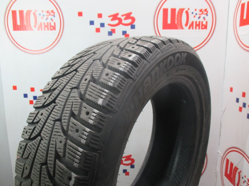 Б/У 205/55 R16 Зима Шипы  HANKOOK Winter I*Pike RS W-419 Кат. 3