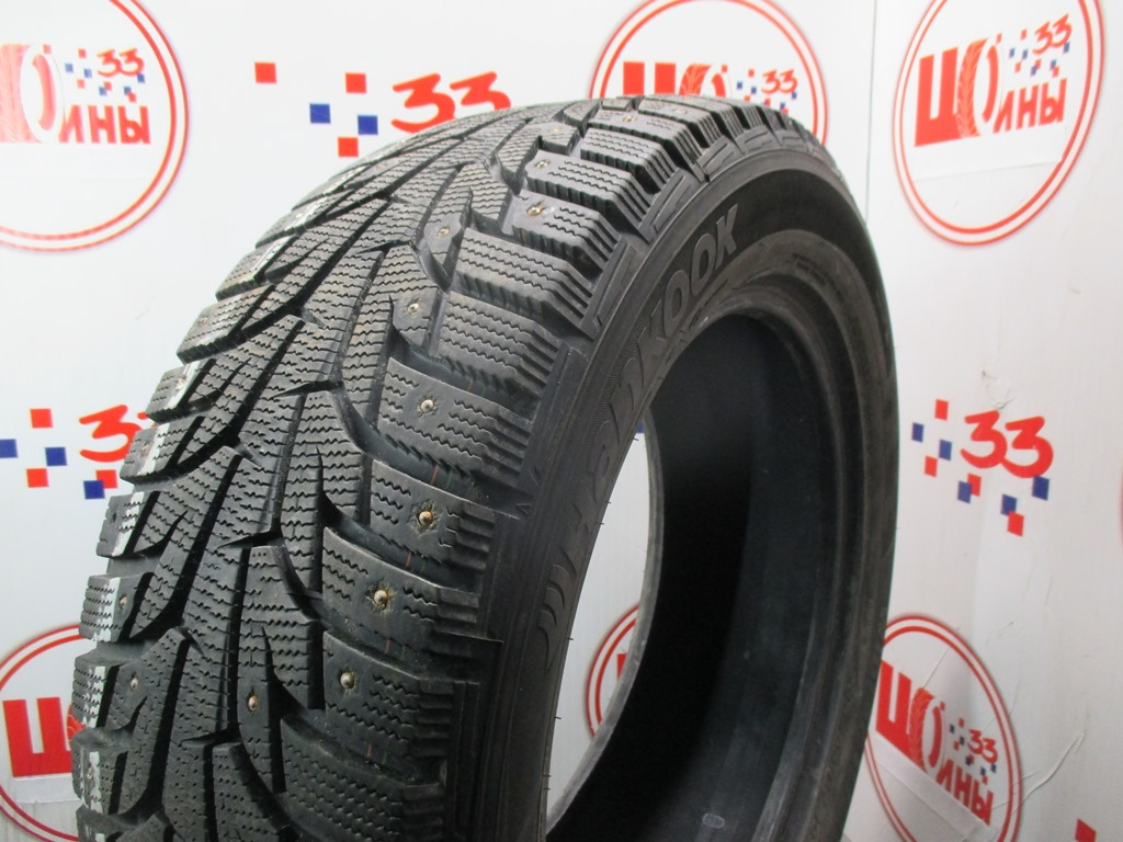 Б/У 235/55 R17 Зима Шипы  HANKOOK Winter I*Pike RS W-419 Кат. 3