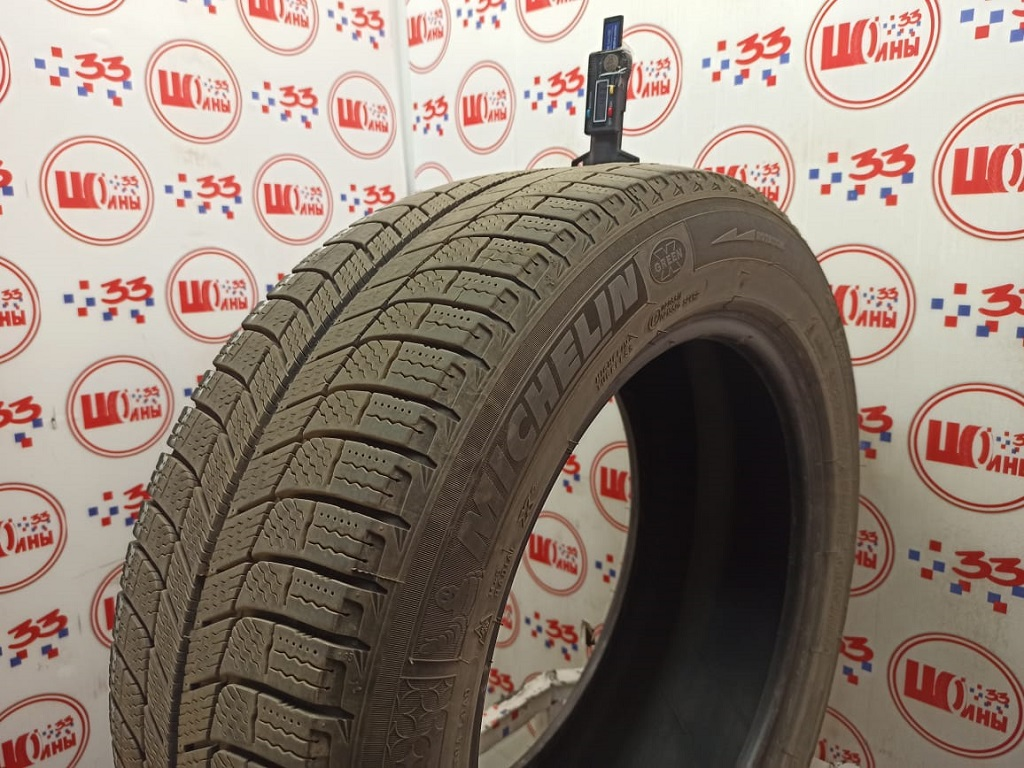 Б/У 225/55 R17 Зима MICHELIN X-ICE-3 Кат. 3