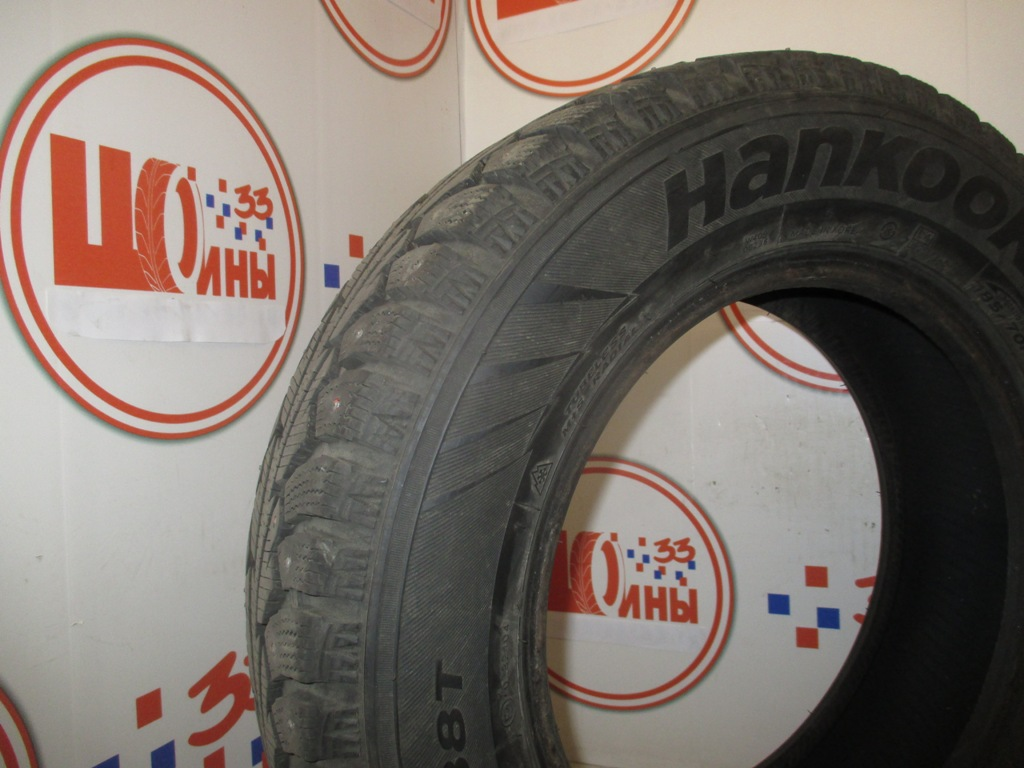 Б/У 185/70 R14 Зима Шипы  HANKOOK Winter I*Pike W-409 Кат. 2