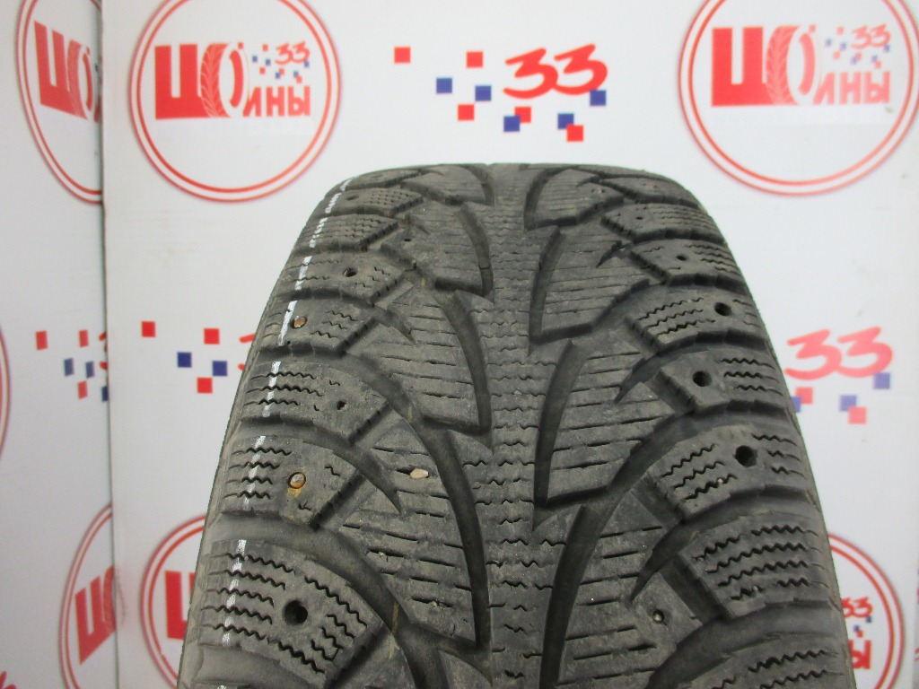 Б/У 225/60 R17 Зима Шипы  HANKOOK Winter I*Pike W-409 Кат. 5