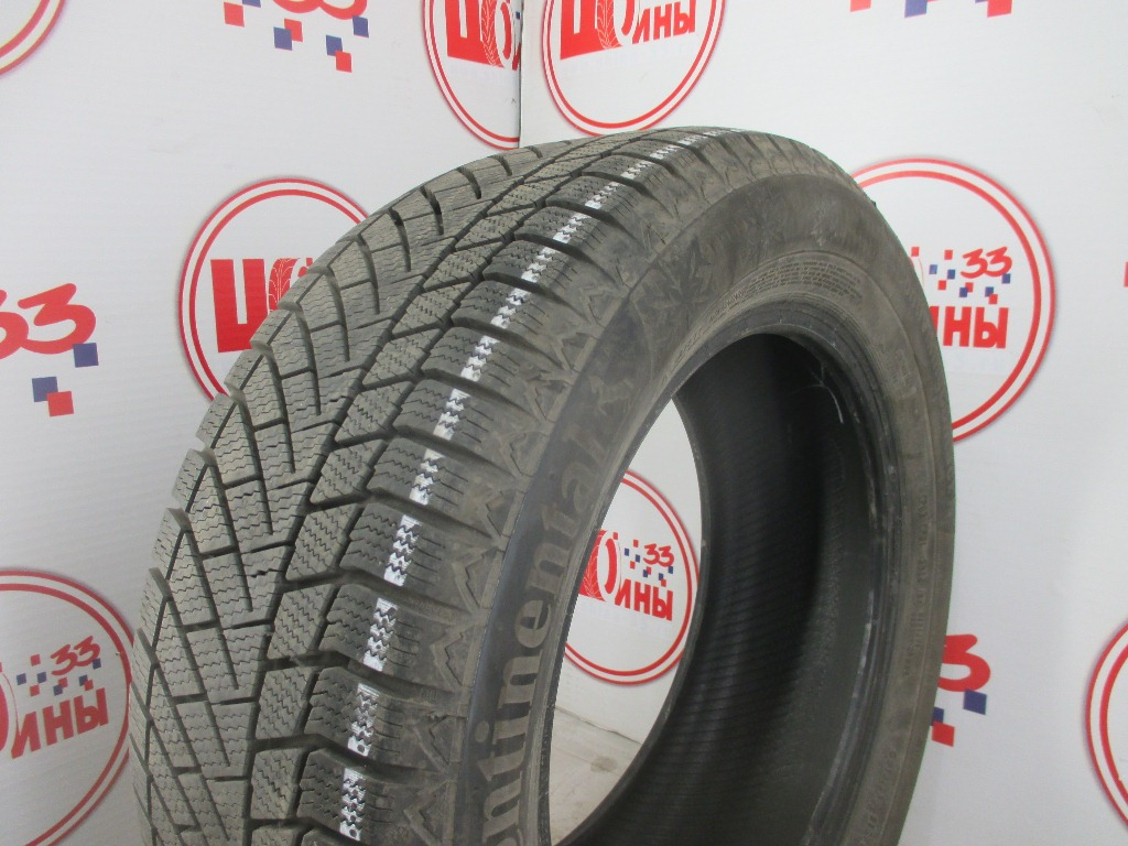 Б/У 215/55 R16 Зима CONTINENTAL C.Viking Contact-6 Кат. 1