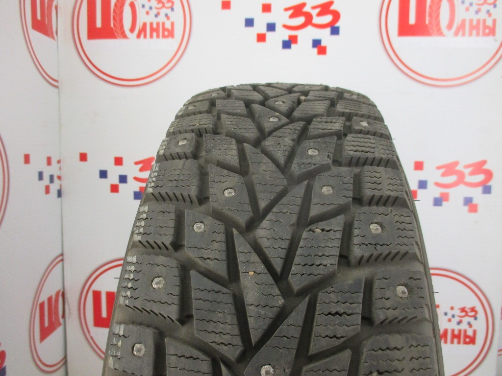 Б/У 195/65 R15 Зима Шипы  DUNLOP SP Winter Ice-02 Кат. 2