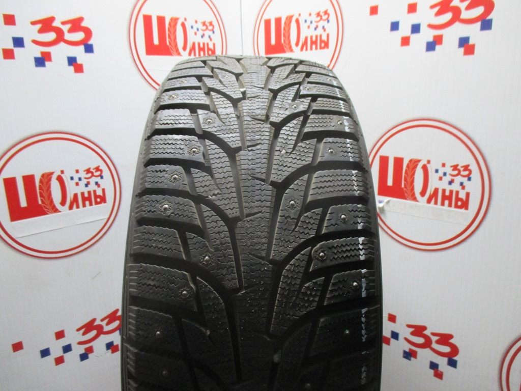 Б/У 225/50 R17 Зима Шипы  HANKOOK Winter I*Pike RS W-419 Кат. 2