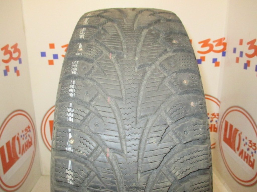 Б/У 195/65 R15 Зима Шипы  HANKOOK Winter I*Pike W-409 Кат. 3