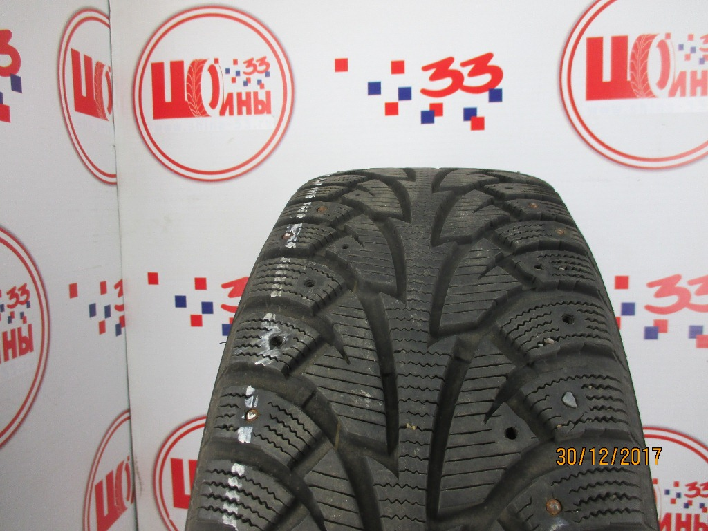 Б/У 225/60 R17 Зима Шипы  HANKOOK Winter I*Pike W-409 Кат. 3