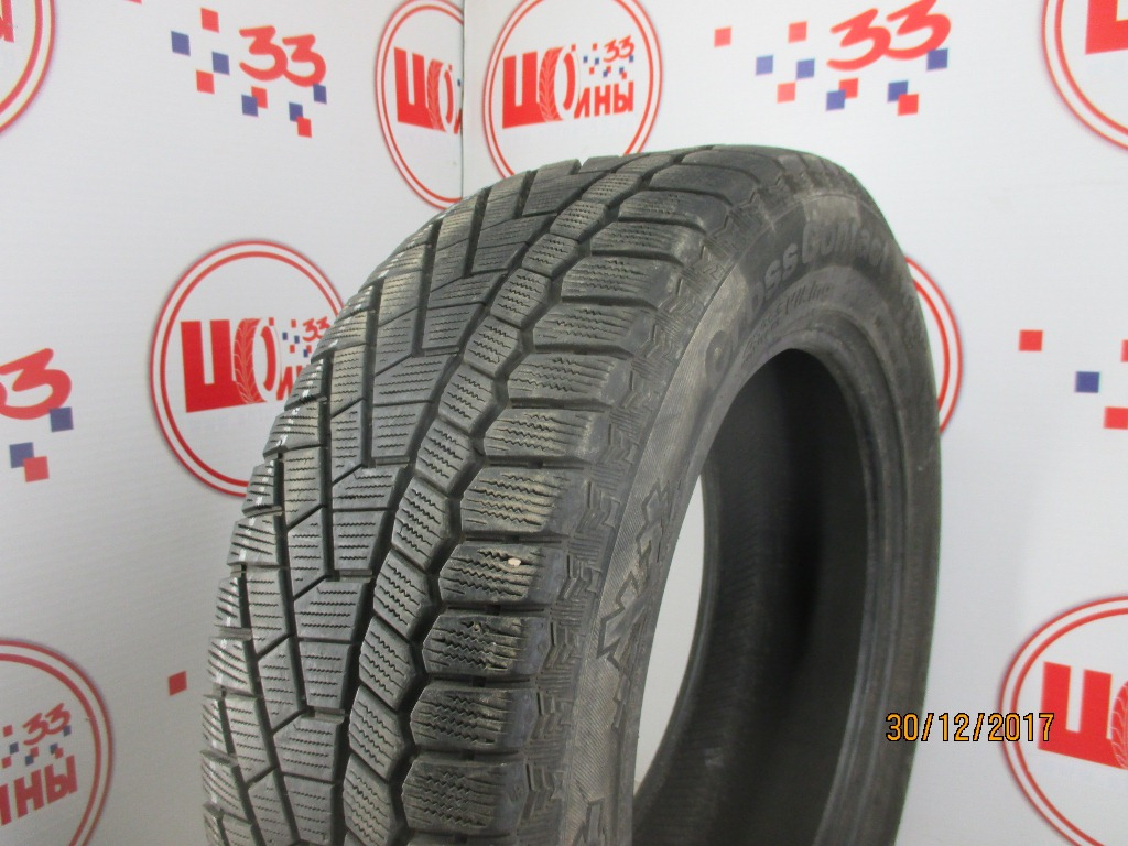 Б/У 225/60 R17 Зима CONTINENTAL C.Cross Contact Viking Кат. 4