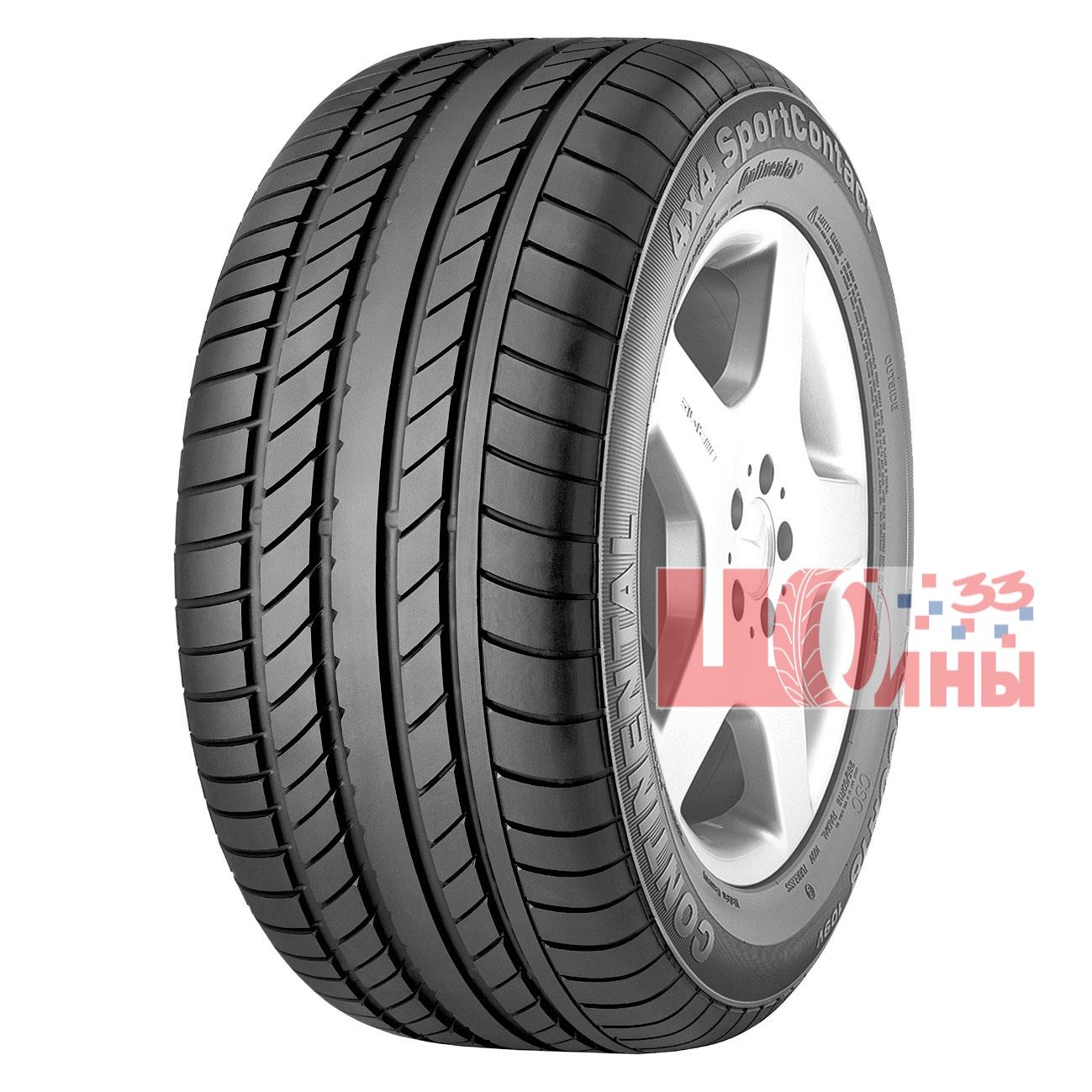 Б/У 275/45 R19 Лето CONTINENTAL 4*4 Sport Contact Кат. 3