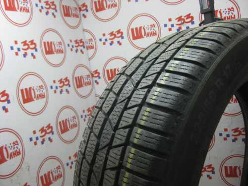 Шина 225/50/R17 CONTINENTAL C.Winter Contact TS-830 Р износ не более 25%