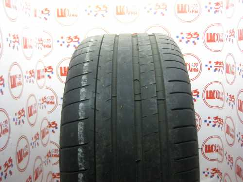 Шина 255/45/R19 MICHELIN Pilot Super Sport износ более 50%