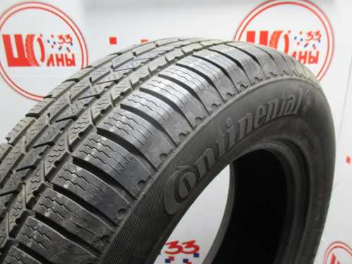 Шина 235/65/R17 CONTINENTAL C.Cross Contact Winter износ не более 25%