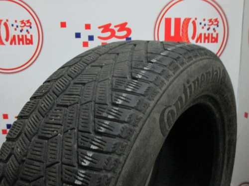 Шина 225/55/R16 CONTINENTAL C.Viking Contact-5 износ более 50%