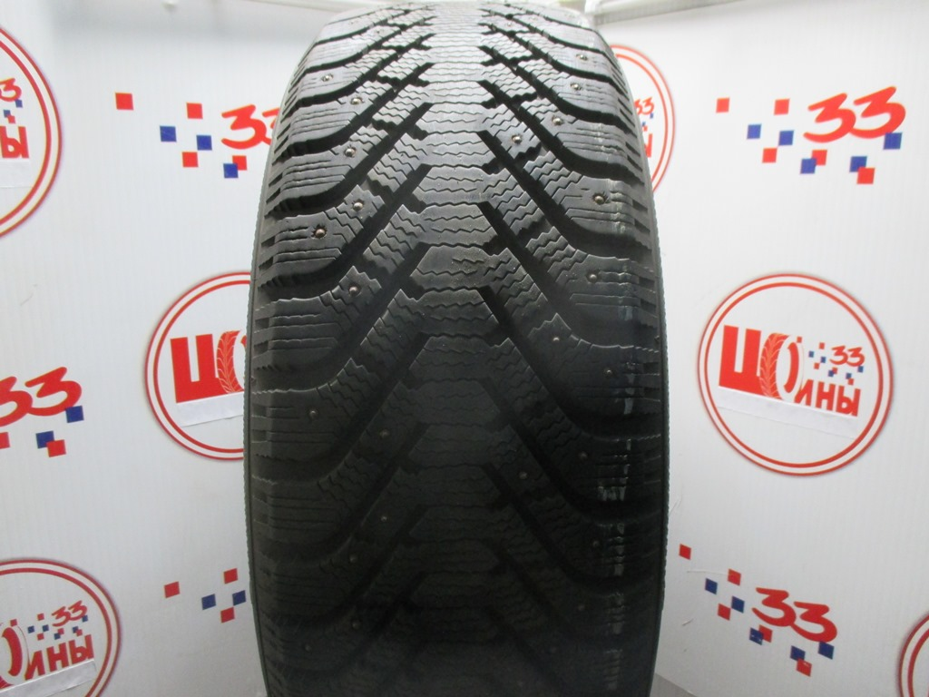 Б/У 255/55 R19 Зима Шипы  GOODYEAR Ultra Grip-500 Кат. 2