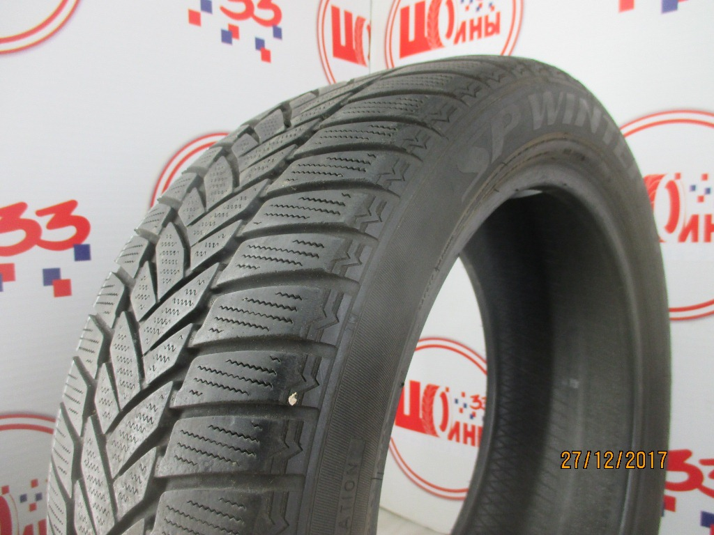 Б/У 215/50 R17 Зима DUNLOP SP Winter Sport M-3 Кат. 3