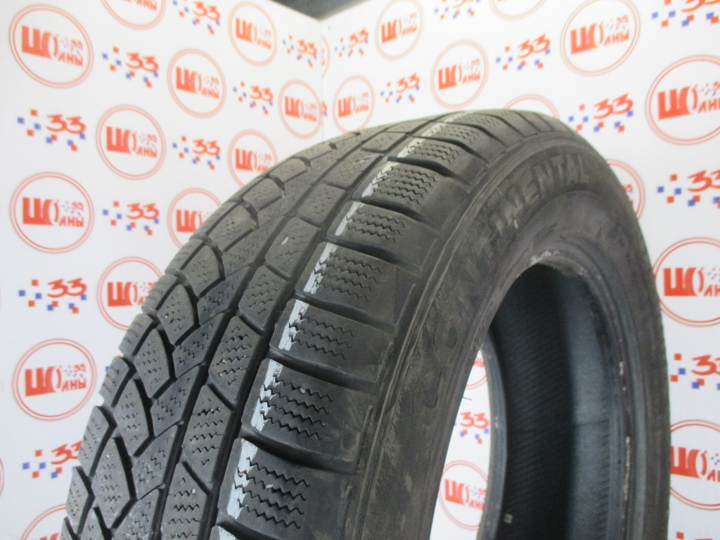Б/У 235/60 R18 Зима CONTINENTAL 4*4 Winter Contakt Кат. 5