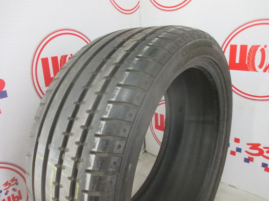 Б/У 245/40 R18 Лето CONTINENTAL Sport Contact-2 Кат. 3
