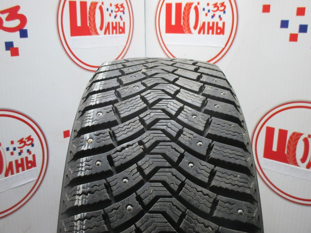 Б/У 205/55 R16 Зима Шипы  MICHELIN X-Ice North-2 Кат. 2