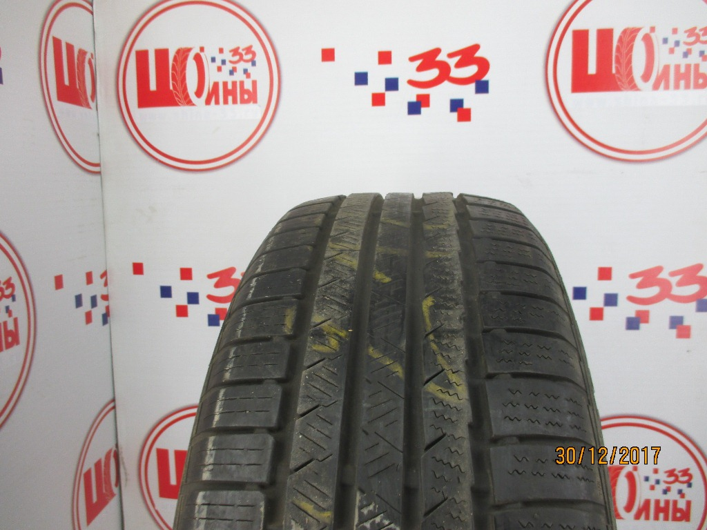 Б/У 225/55 R17 Зима CONTINENTAL C.Winter Contact TS-810S Кат. 5