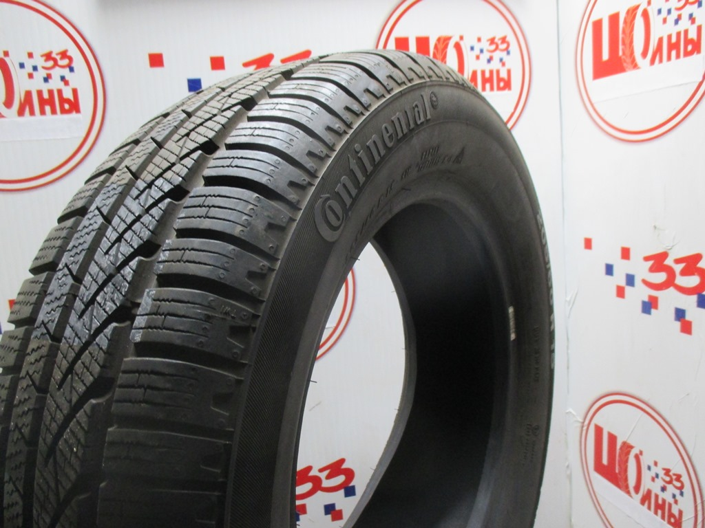 Б/У 205/60 R15 Зима CONTINENTAL C.Winter Contact TS-810 Кат. 3