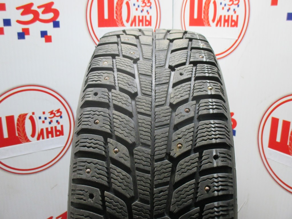 Б/У 205/60 R16 Зима Шипы  MICHELIN X-Ice North Кат. 3