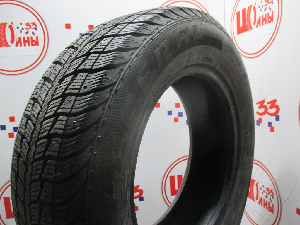 Б/У 215/65 R16 Зима Шипы  Federal Hymalaya WS2 Кат. 3