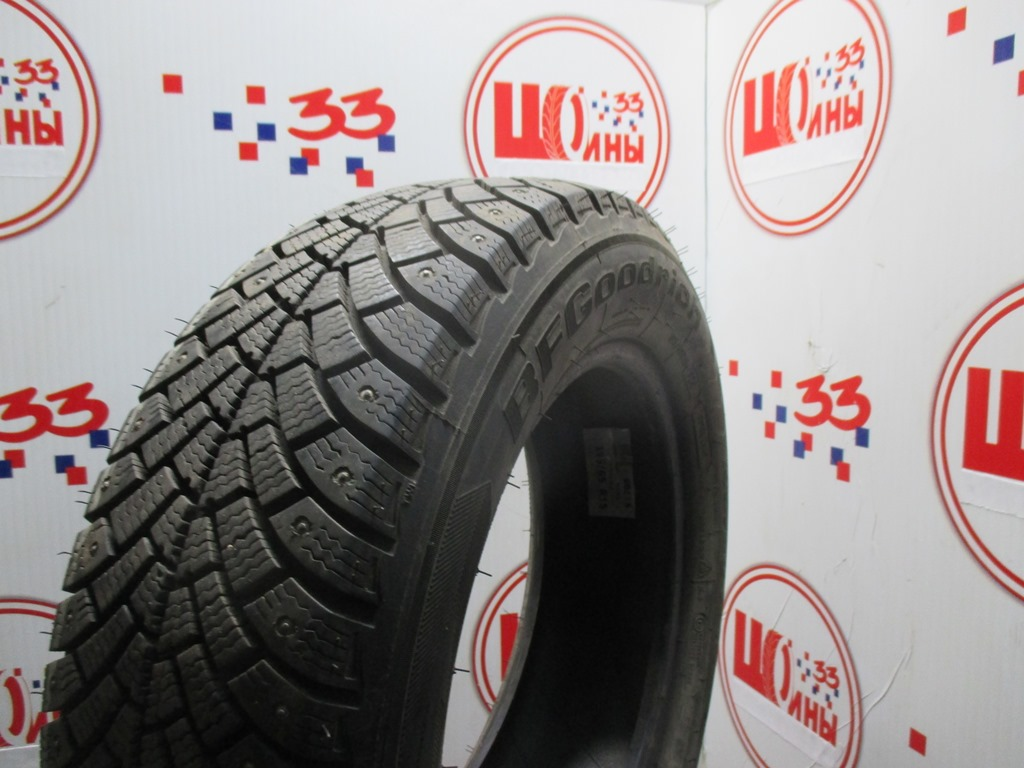 Б/У 195/65 R15 Зима Шипы  BFGoodrich G-Force Stud Кат. 2