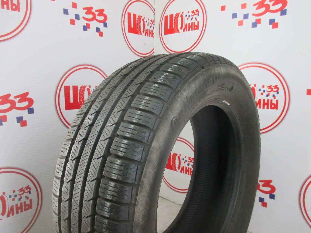 Б/У 225/55 R16 Зима CONTINENTAL C.Winter Contact TS-810S Кат. 4