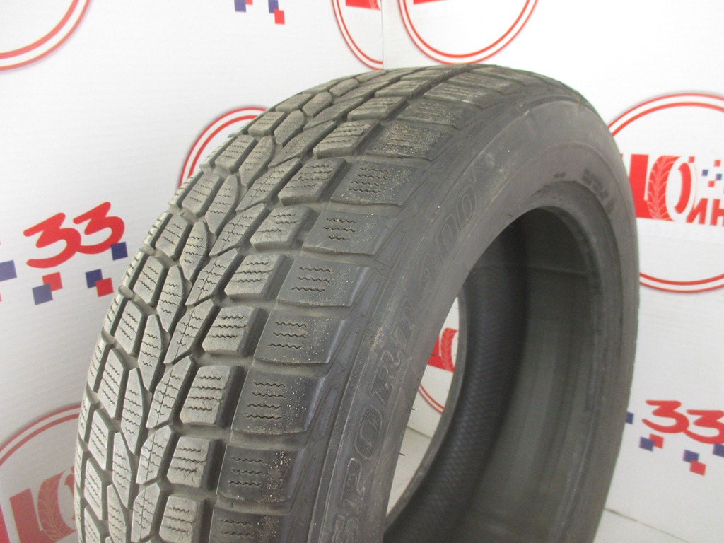 Б/У 235/55 R17 Зима DUNLOP SP Winter Sport 400 Кат. 5