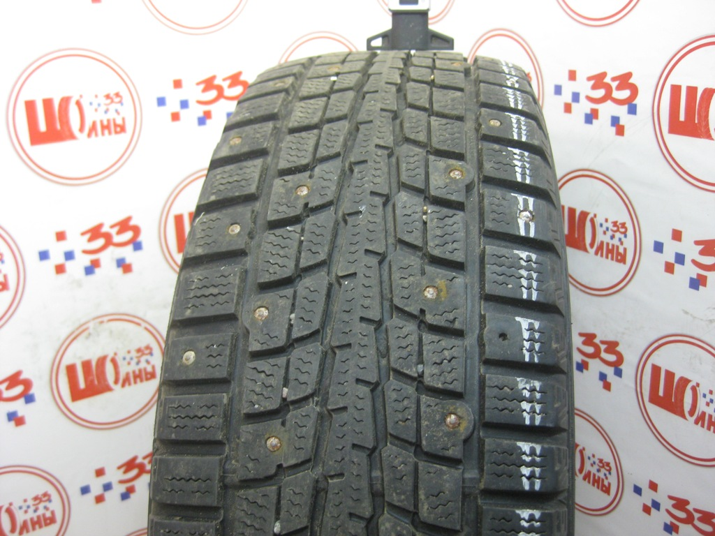 Б/У 195/65 R15 Зима Шипы  DUNLOP SP Winter Ice-01 Кат. 3