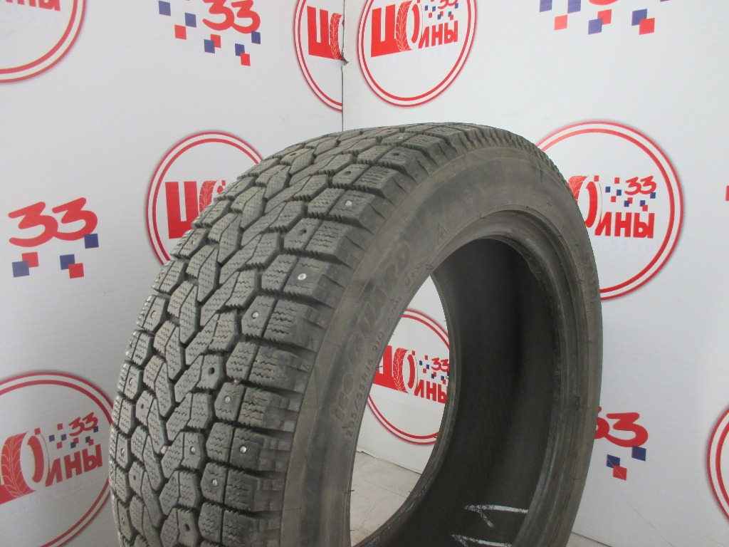Б/У 205/55 R16 Зима Шипы  YOKOHAMA Ice Guard F-700S Кат. 3