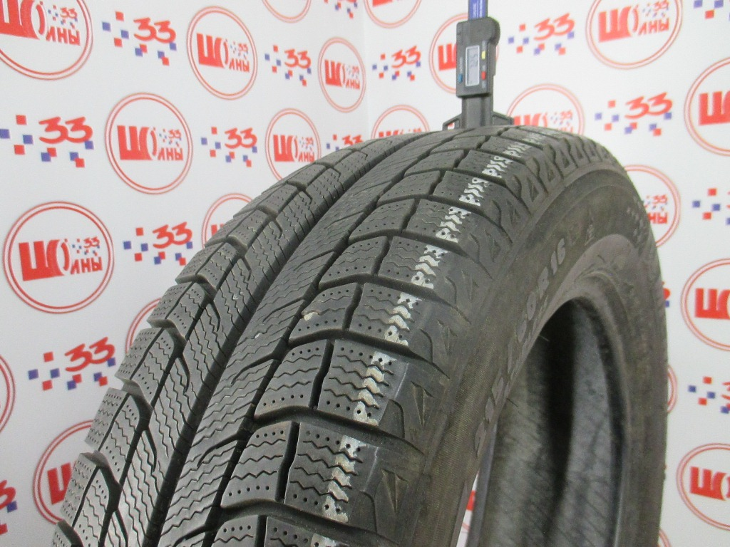 Б/У 215/60 R16 Зима MICHELIN X-ICE-2 T Кат. 2