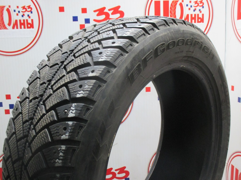 Б/У 205/55 R16 Зима Шипы  BFGoodrich G-Force Stud Кат. 3