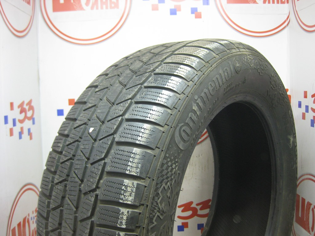 Б/У 225/55 R17 Зима CONTINENTAL C.Winter Contact TS-810S Кат. 3