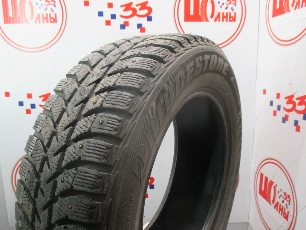 Б/У 185/65 R14 Зима Шипы  BRIDGESTONE IC-5000 Кат. 3