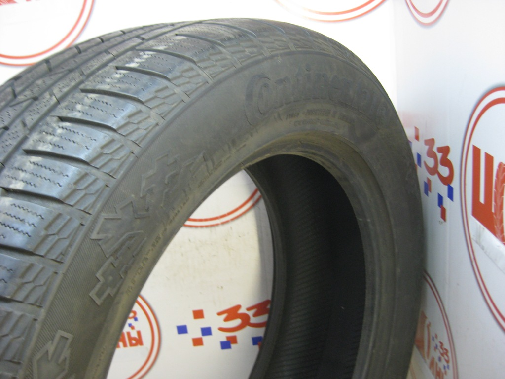 Б/У 255/55 R19 Зима CONTINENTAL C.Cross Contact Winter Кат. 3