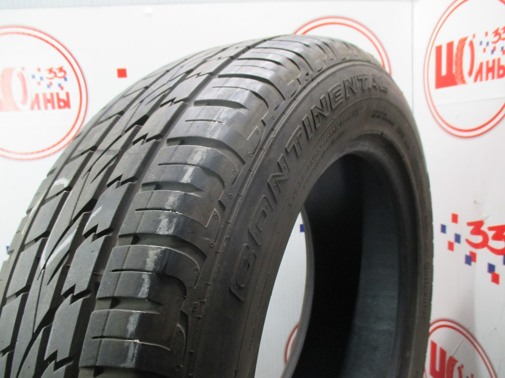 Б/У 235/60 R18 Лето CONTINENTAL C.Cross Contact UHP Кат. 2